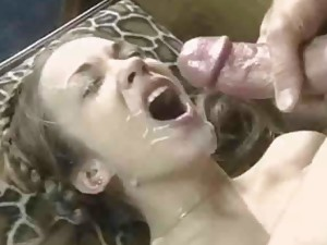 Cum Covered sex movies. Whore with cum covered face.